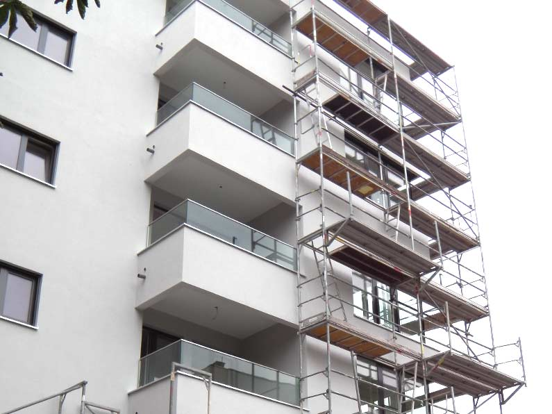 Neubau Mehrfamilienhaus München Moosach