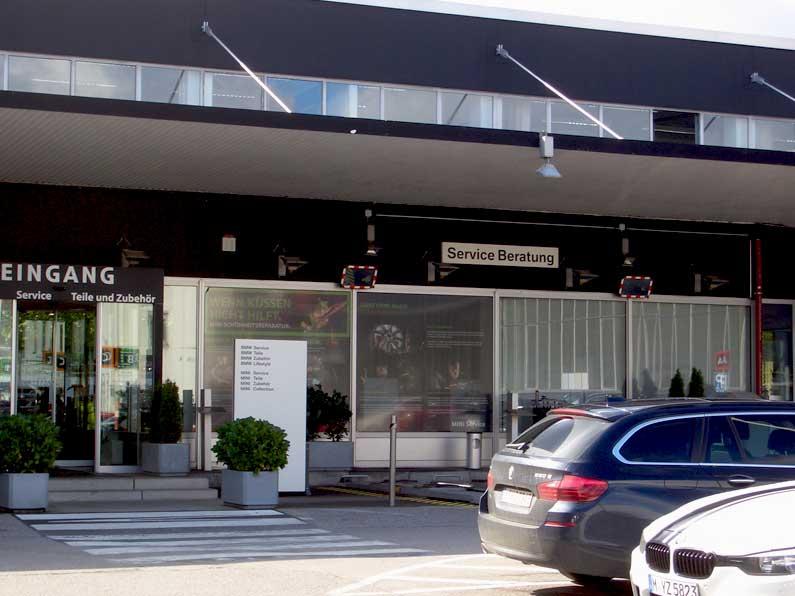 Erweiterung Showroom München
