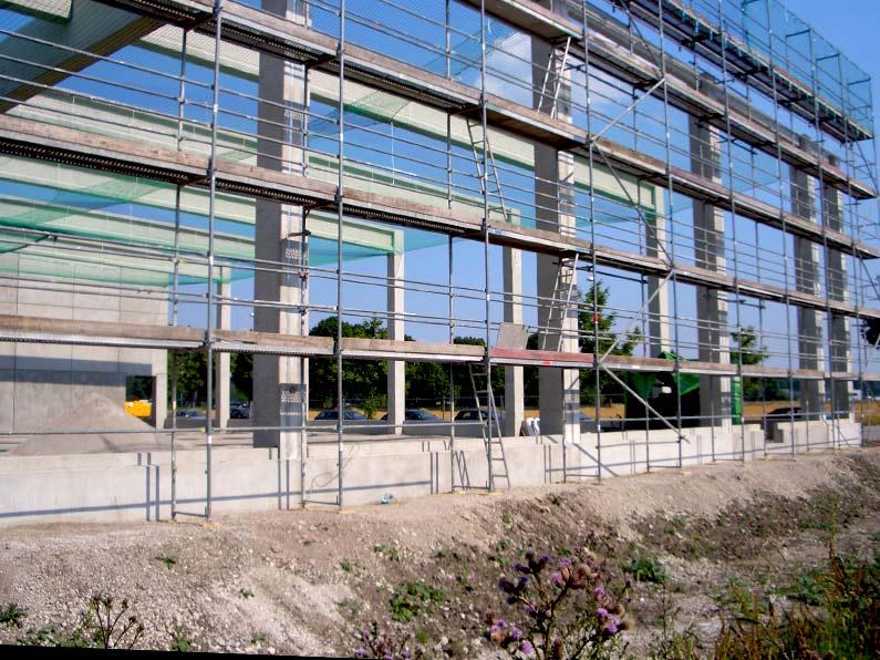 Neubau Vertriebszentrum Neufahrn