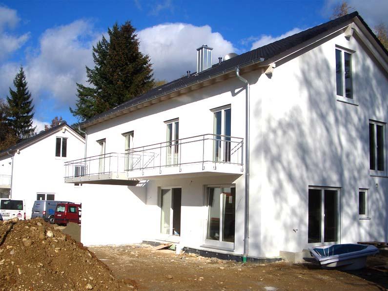 Neubau zwei Doppelhäuser Gauting