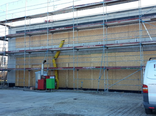 Neubau Lagergebäude