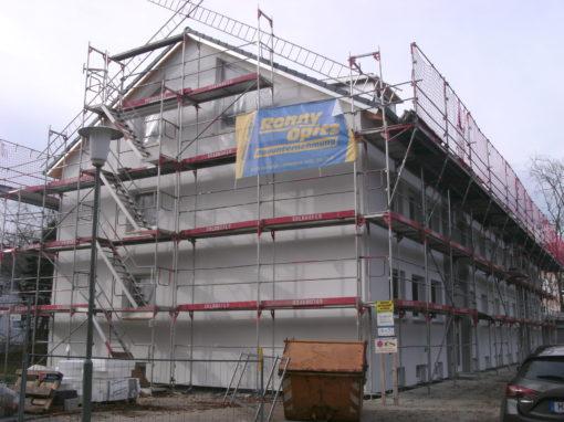Dachgeschossausbau und Fassadensanierung