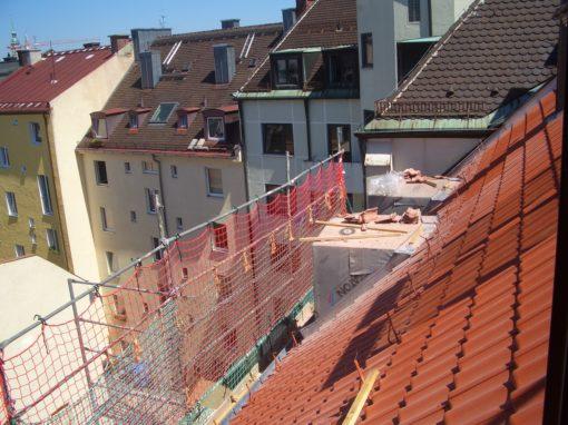Dachgeschossausbau Baaderstraße in München